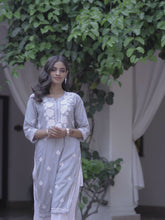 Load and play video in Gallery viewer, Chasing Summer Kurta - Grey