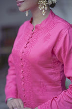 Load image into Gallery viewer, Hazy Dawn Kurta - Pink
