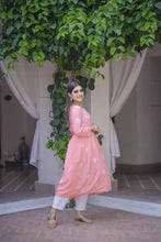 Load image into Gallery viewer, Wind in my Hair Kurta - Pink