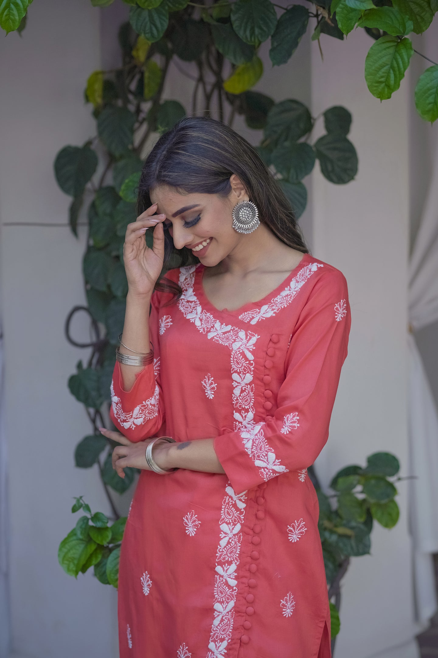 Earth Scents Kurta - Pink