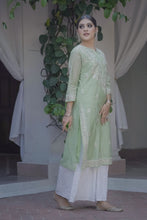 Load image into Gallery viewer, Evening Skies Kurta - Green