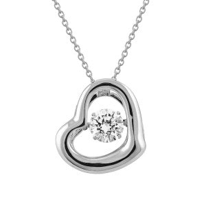 Carole Radziwill Heart Necklace