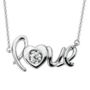 Carole Radziwill Love Necklace