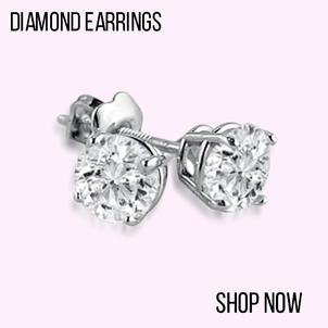 Certified Diamond Earrings, Diamond Earrings, Shop diamonds