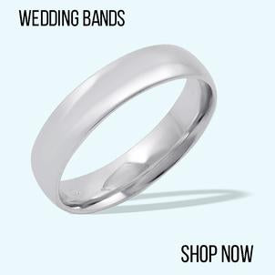 mens rings, mens gold bands, wedding bands
