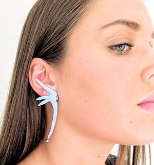 Long Swallow earrings