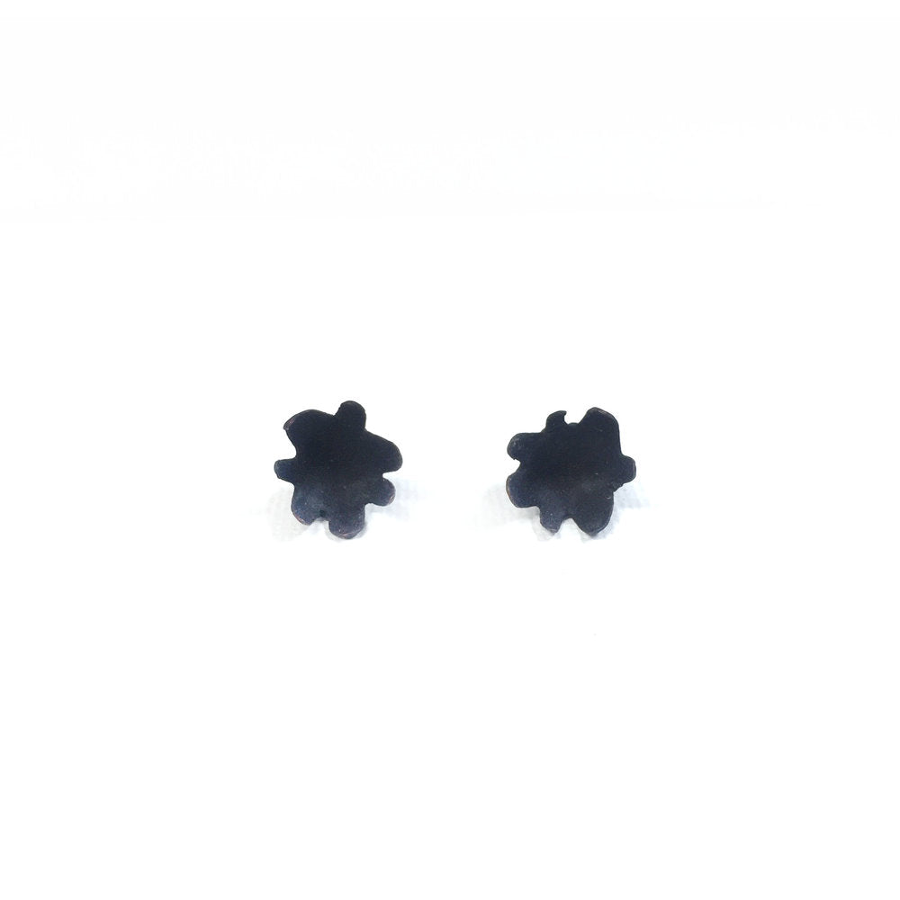 Small Black Spikey Studs