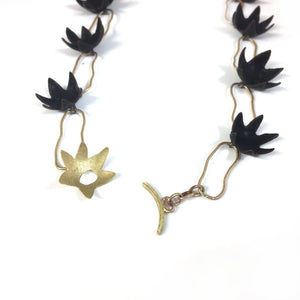Spikey Double-Link Necklace