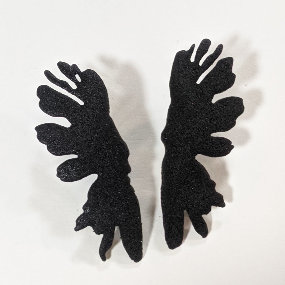 Medium Ink Blot Earrings