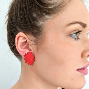 Rockin Red earrings