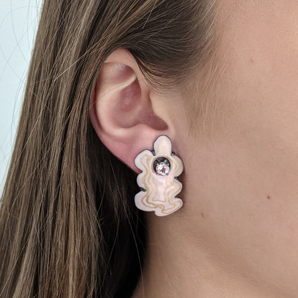 Modern Baroque earrings