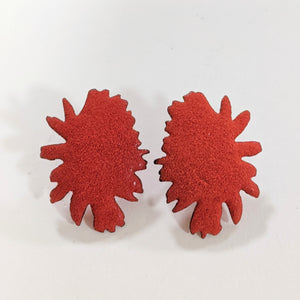 Load image into Gallery viewer, Rockin Red earrings