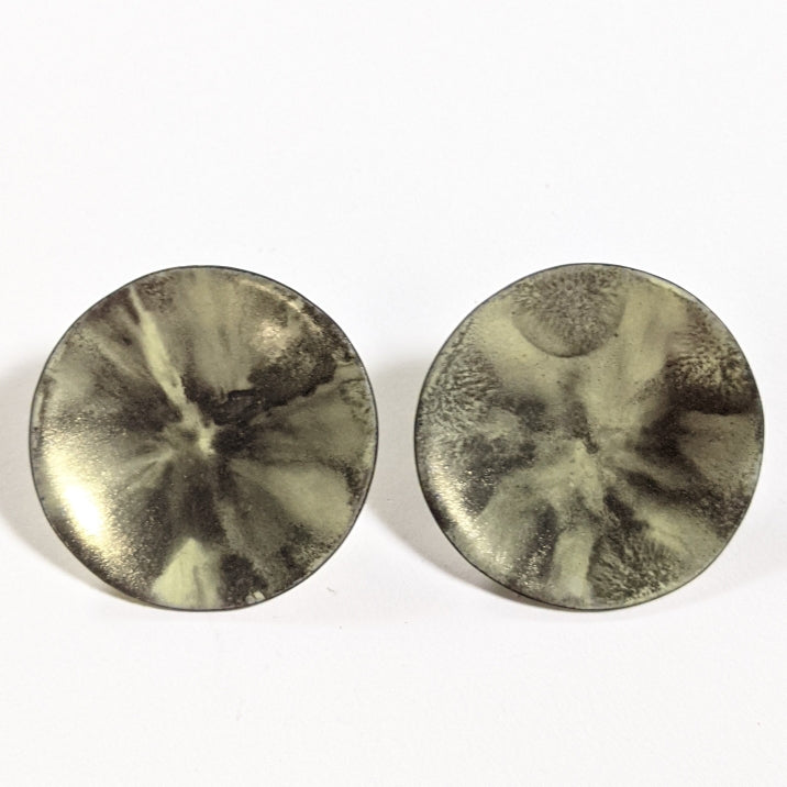 Large Glow Disc Earrings