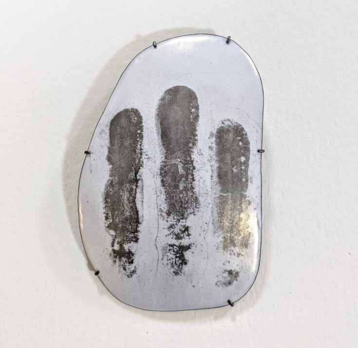 Load image into Gallery viewer, Finger Print Pin/pendant