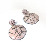 Round Cocteau Earrings