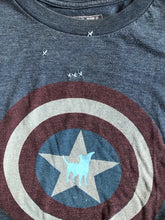 Load image into Gallery viewer, Captain America dog T-shirt
