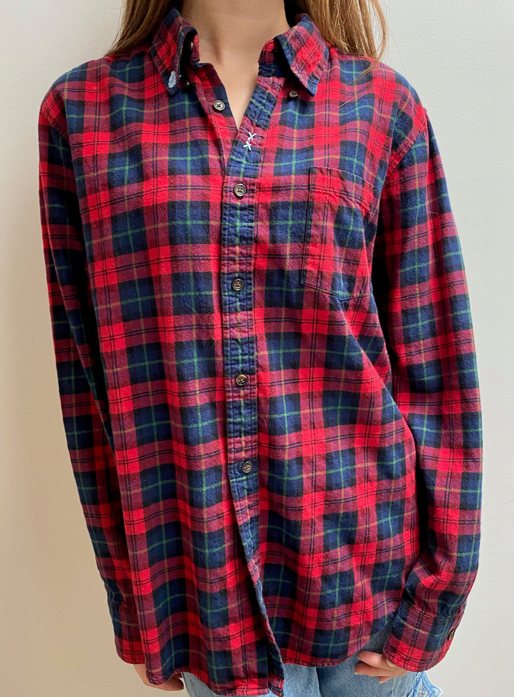 Plaid Oberst flannel shirt