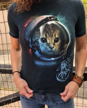 Load image into Gallery viewer, Space Kitty t-shirt