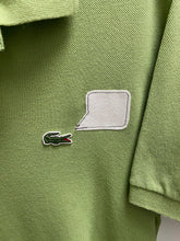 Load image into Gallery viewer, green izod collared short sleeve shirt