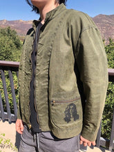 Load image into Gallery viewer, army green guitar jacket