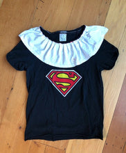 Load image into Gallery viewer, RBG/Superwoman black t-shirt