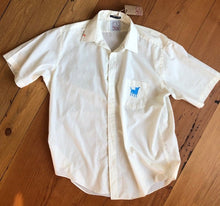 Load image into Gallery viewer, off white men's short sleeve dress shirt