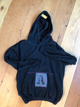 Load image into Gallery viewer, black pull over patti smith hoodie