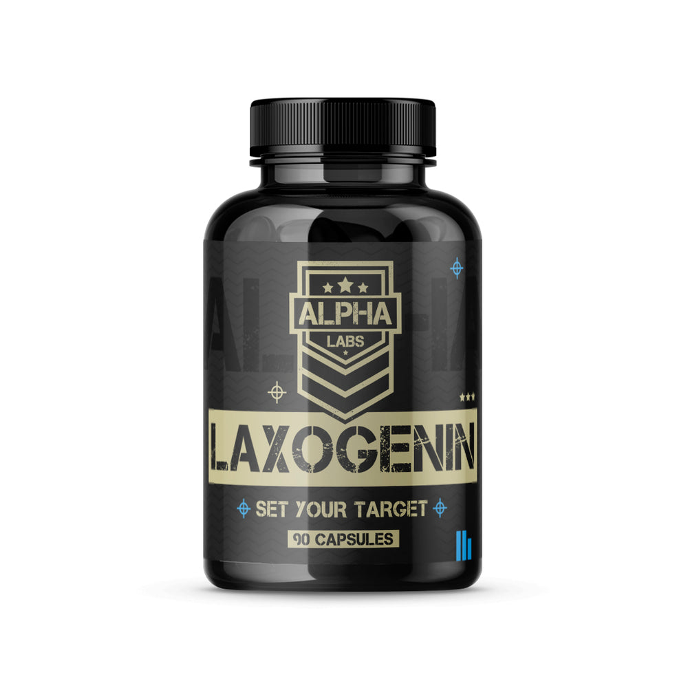 Alpha Labs Laxogenin 100mg 90 Capsules