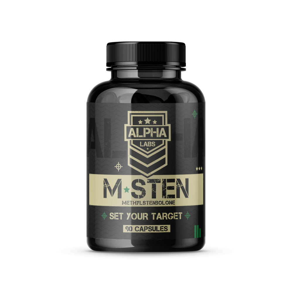 Alpha Labs M-Sten 5mg 90 Capsules