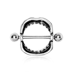 Mouth Nipple Shield 14G-Totally Pierced