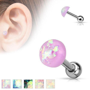 Opal Glitter Cartilage Bar 16G-My Body Piercing Jewellery ?id=15252435304522