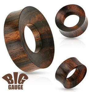 "Iron Wood Tunnel 1""-2""-Totally Pierced"