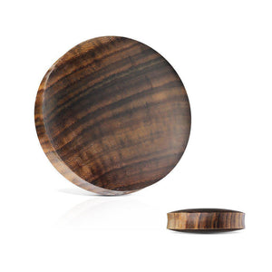 Sono Wood Solid Plug 3mm-51mm-Totally Pierced