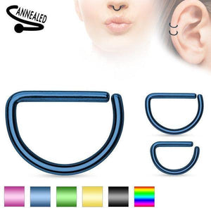 IP D Shaped Continuous Ring 20G 18G 16G-My Body Piercing Jewellery ?id=15252367736906