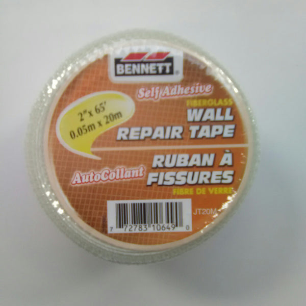 "Bennett 2"" X 65' Fiberglass Wall Repair Tape"