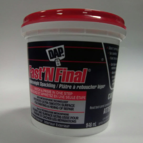 Dap Fast'n Final Lightweight Spackling 946 ml