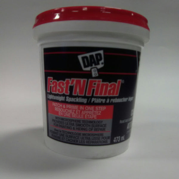 Dap Fast'n Final Lightweight Spackling 473ml