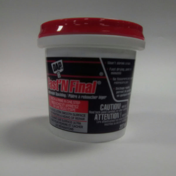 Dap Fast'n Final Lightweight Spackling 237ml
