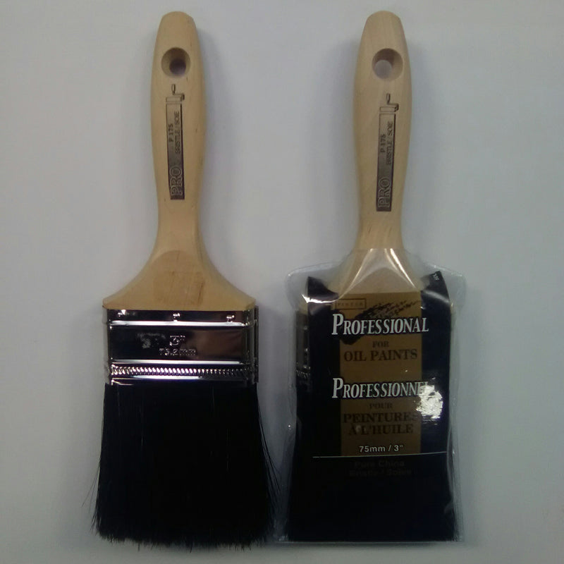 "Professional for Oil Paints 3"" Brush"