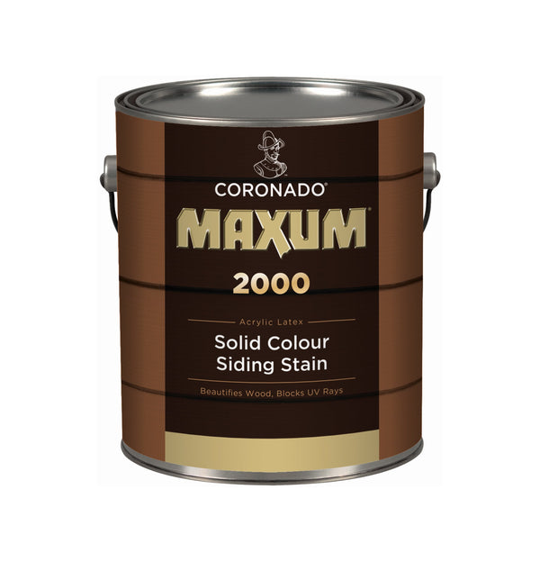 Coronado® MAXUM® Solid Colour Siding Stain 2000 Series Regular $54.99 Clearance $33.00