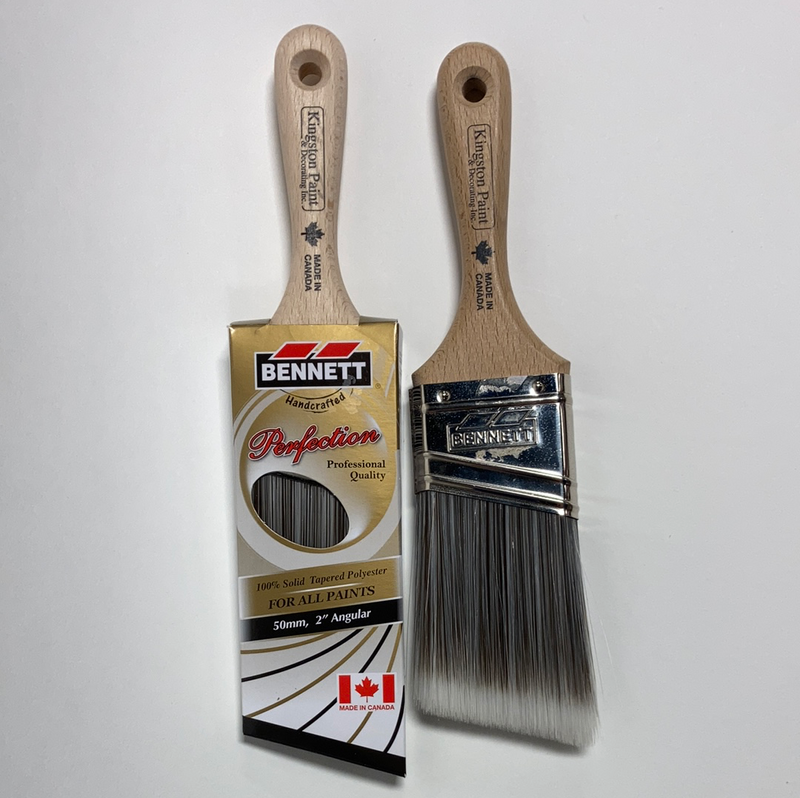 Bennett Kingston Paint Perfection Angled Stubby Brush 2""