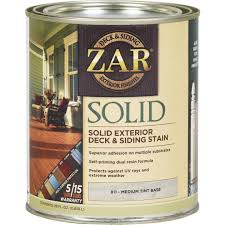 Zar Exterior Solid Stain