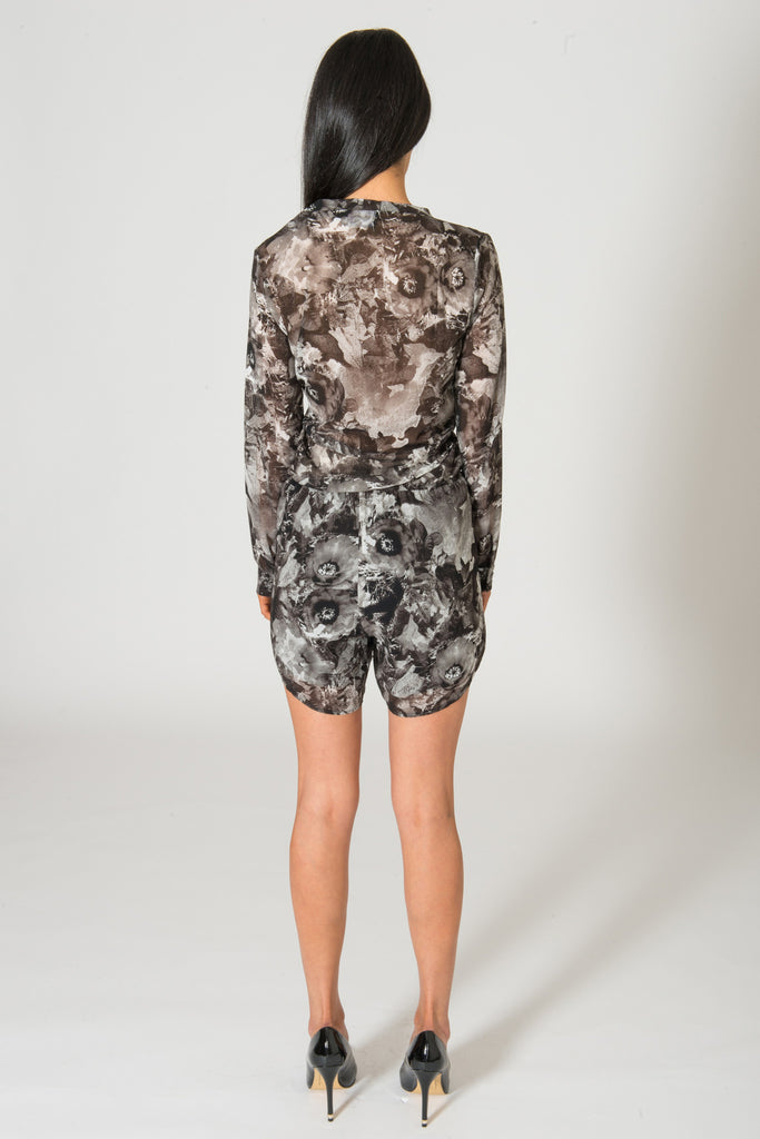 Jaggar Getting Better Floral Playsuit