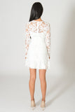 Saylor Kaleigh White Lace Dress