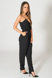 Finders Keepers The Someday Black Jumpsuit