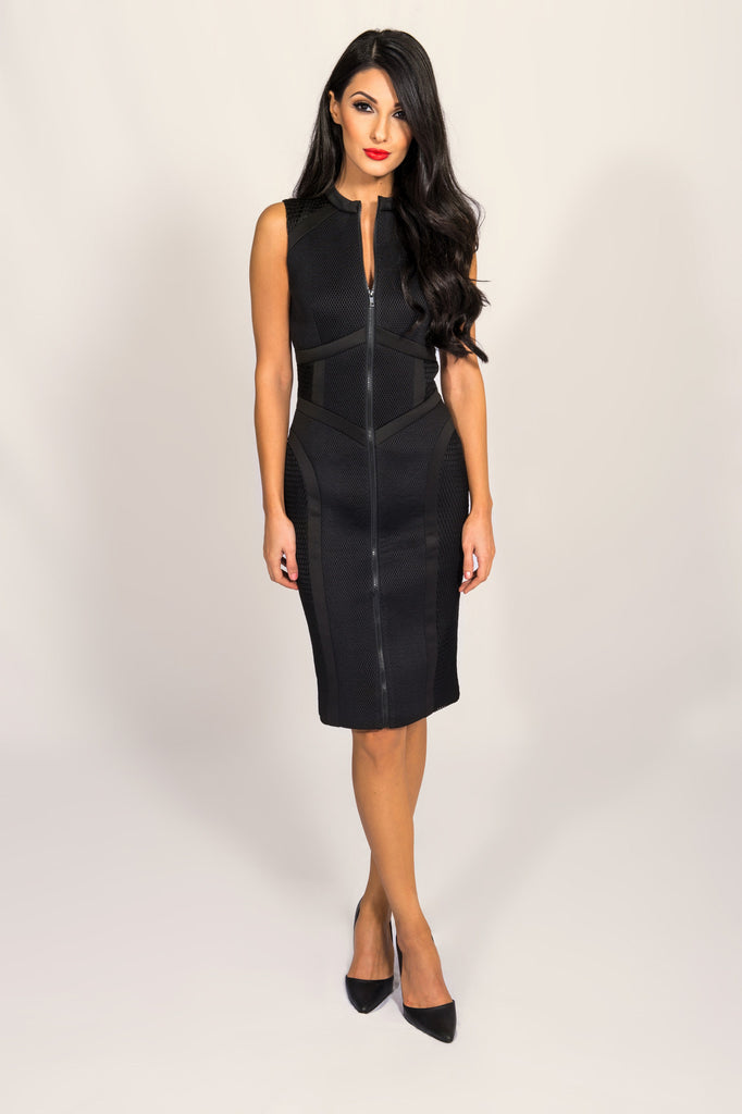 Cameo Black The Throw Dress