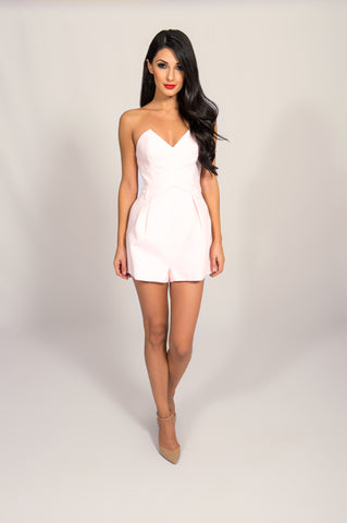 Stylestalker Red Rose Playsuit