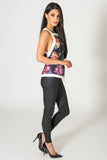 Cameo Floral Fire Start Top
