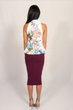 Keepsake Tessellate Floral Top