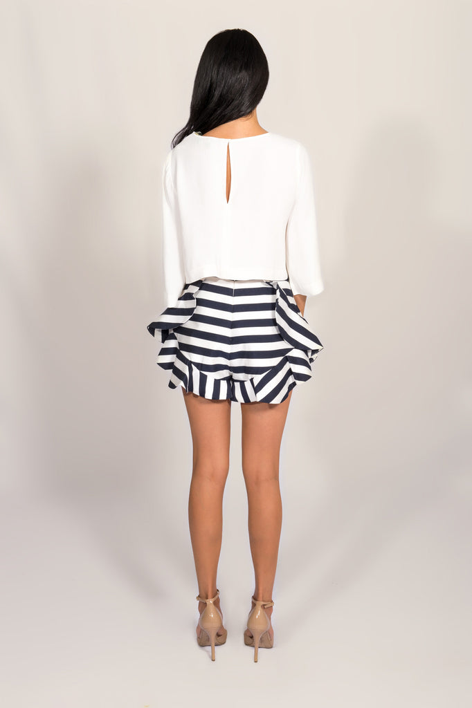 Cameo Oceans Stripped Shorts